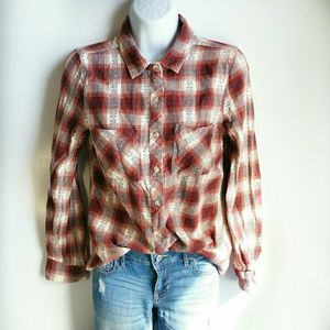 Bird Cage button down size S